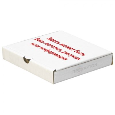 коробка для пиццы один цвет