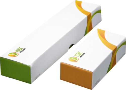 Пример печати на коробках для пластиковых карт.