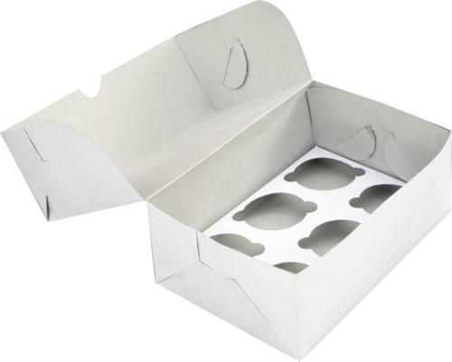 Коробка для капкейков 6 штук