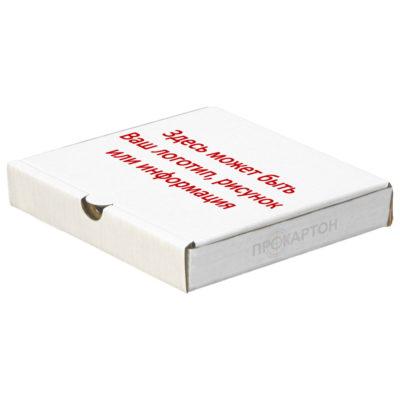 Упаковка для пиццы печать в один цвет